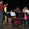 "The Fleming 5th and 6th grade bands perform ""Jolly Old Saint Nicholas,"" under the direction of Lee Lippstrew, during the Fleming K-6 Winter Concert, Wednesday, Dec. 11, 2013."