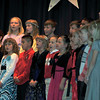 "Students perform ""Moonrise in Bethlehem,""  during Saint Anthony Catholic School's presentation of ""The Mystery of Simon Shepherd,"" Thursday, Dec. 12, 2013."