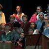 "Students perform ""All Praise,""  during Saint Anthony Catholic School's presentation of ""The Mystery of Simon Shepherd,"" Thursday, Dec. 12, 2013."