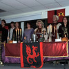 "The Royal Court sings the ""Wassail Song"" as they take their places during Sterling High School's annual Madrigal Dinner, Tuesday, Dec. 3, 2013."