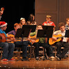 "Sterling Middle School sixth graders perform ""Up on the House Top,"" during a Guitar and Recorder Recital, Thursday, Dec. 12, 2013."