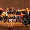 "Sterling Middle School sixth graders perform ""Jingle Bells,"" under the direction of Don Johnson and Annette Lambrecht, during a Guitar and Recorder Recital, Thursday, Dec. 12, 2013."