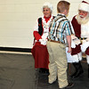 Santa and Mrs. Claus stopped by Caliche School to visit wth children following the school's Christmas Program and Band Concert, Monday, Dec. 9, 2013.