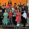"The Caliche kindergarten, 1st, 2nd, 3rd and 4th Grade Singers perform ""Sleepin' On the Floor This Christmas,"" during their presentation of ""'Twas One Crazy Night Before Christmas!"" Monday, Dec. 9, 2013."
