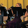 "Members of Caliche's sixth grade band perform ""Ode to Joy,"" during the school's Christmas Program and Band Concert, Monday, Dec. 9, 2013."