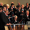 "The men of the Master Chorale perform ""O Come Let Us Adore Him,"" during the group's 22nd Noel concert, Sunday, Dec. 8, 2013."