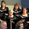"Members of the Master Chorale perform ""This Little Babe,"" during the group's 22nd Noel concert, Sunday, Dec. 8, 2013."