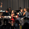 "Members of the Peetz Junior High/High School band performs ""Holy Night,"" under the direction of Jamie Wheelock, during the Peetz K-12 Winter Concert, Thursday, Dec. 19, 2013."