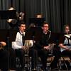 "Members of the Sterling High School jazz band perform ""Baby, It's Cold Outside,"" during the SHS Bands Winter Concert, Monday, Dec. 16, 2013."