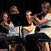 "Members of the Sterling High School concert band perform ""Adventum,"" during the SHS Bands Winter Concert, Monday, Dec. 16, 2013."