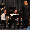 "Members of the Sterling High School jazz band perform ""Blue Christmas,"" during the SHS Bands Winter Concert, Monday, Dec. 16, 2013."