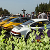 Just some of the beautifully turned-out early Porsches.  Greystone Mansion Concours d'Elegance
