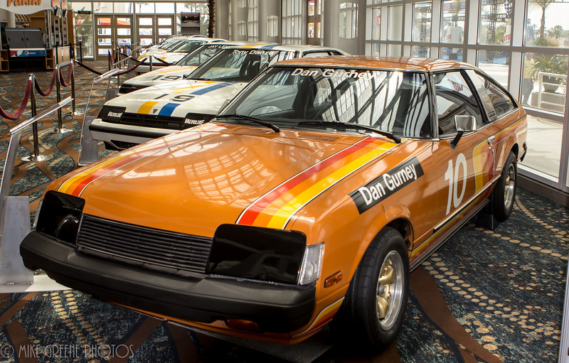 40 Years and Fabulous: Past Toyota Celebrity/Pro race cars featured in  heritage display