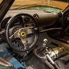 spartan interior of the Lotus Exige V6 Cup