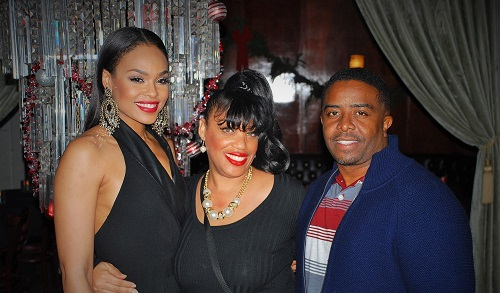 Demetria McKinney, Connie and Steven Russell Harts attend An Evening Of Soul - December 18, 2014 in Los Angeles, CA