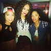 Samantha Merie, Demetria McKinney & Breezy at 'Atria' on September 14, 2013