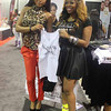 Demetria McKinney and Bucky attends the 'Bronner Brothers Hair Show' on August 18, 2013 in Atlanta, Georgia.