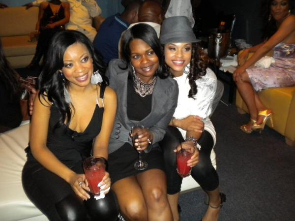 """Zeeky Minnis, Ve & Demetria McKinney at the """"Church Girl"""" after party in Detroit - April 4, 2010"""