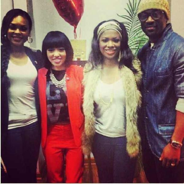 Demetria McKinney, Dri Jack, Kandi & Q at 'Dri Jack's Listening Session' on February 11, 2013