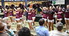 The Dobyns-Bennett cheerleaders help kick-off the Back to School Bash. Photo by Ned Jilton II<br /> The Fifth Annual Back to School Expo at the Kingsport Town Center Tuesday afternoon included more than 90 vendors and exhibitors for parents and guardians of Kingsport City Schools students. <br /> Parents/guardians could pick up all of the information needed to get their child or children started back to school. They will also have the opportunity to sign them up for programs and activities for things to do this fall located throughout Kingsport.  <br /> Various stores within the mall offered discounts during the event.<br /> Vendors ranged from Kingsport City Schools services and school programs; health, nutrition and safety related services; animal welfare/pet adoption; fiancé for college; tutoring, library/literacy programs; pre-school programs; wellness activities; arts, sports and recreation activities; children's services and various other vendors providing interactive activities, demonstrations and prizes.