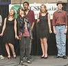 The Dobyns-Bennett a Cappella singing group help to open the Back to School Bash. Photo by Ned Jilton II<br /> The Fifth Annual Back to School Expo at the Kingsport Town Center Tuesday afternoon included more than 90 vendors and exhibitors for parents and guardians of Kingsport City Schools students. <br /> Parents/guardians could pick up all of the information needed to get their child or children started back to school. They will also have the opportunity to sign them up for programs and activities for things to do this fall located throughout Kingsport.  <br /> Various stores within the mall offered discounts during the event.<br /> Vendors ranged from Kingsport City Schools services and school programs; health, nutrition and safety related services; animal welfare/pet adoption; fiancé for college; tutoring, library/literacy programs; pre-school programs; wellness activities; arts, sports and recreation activities; children's services and various other vendors providing interactive activities, demonstrations and prizes.