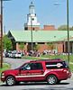 John Sevier Middle School in Kingsport has been evacuated after a fire alarm was pulled shortly before noon.  As of 12:20 p.m. fire department and police personnel were searching the school, with officials on scene saying no students or staff are danger. Wateree Street in front of the school has temporarily been closed. Photo by David Grace