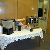 Coffee and other beverages are ready to go.