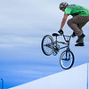 BMX riders perform spectacular tricks for Pathfinders - Photo by Terrence Bowen