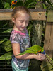 • Location - Brevard Zoo<br /> • Sadie feeding the Lorikeet
