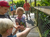 • Location - Brevard Zoo<br /> • Eileen, Josh, Sadie feeding the Lorikeet