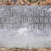 218. Mollie's brother was T. B. Larimore, a well known minister and educator of the late 1800s and early 1900s, particularly in west Tennessee and north Alabama. He founded Mars Hill College in Florence.
