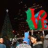 Dec 4, 2013 The 20th Annual Holiday Tree Lighting @ Love Park