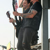 JULIE CROTHERS | THE GOSHEN NEWS<br /> Members of the country music group Parmalee perform for fans at the main grandstand during the Elkhart County 4-H Fair Monday evening.
