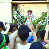CEBU. Devotees of the Sto. Niño have flocked to the Sto. Niño de Cebu parish in Barangay Mactan, Lapu-Lapu City to take photos of Niño Palaboy, believed to be a talking and, at times, moving Niño. (Alan Tangcawan)