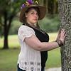 Courtney Haugh at Fort Christmas Historical Park, Florida - 9th November 2014 (Photographer: Nigel G. Worrall)