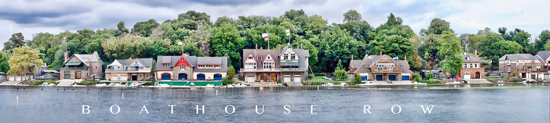 Boat House Row w words