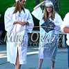 6/19/2014 Mike Orazzi | Staff<br /> Bristol Central High School graduates Libby Brauer and Lauren Benson before Thursday night's ceremony.