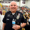 6/19/2014 Mike Orazzi | Staff<br /> Bristol Police resource officer Jeff Beauchamp  during Thursday night's ceremony at Bristol Central.