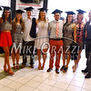 5/17/2014 Mike Orazzi | Staff<br /> CCSU students line up for a group photo during Saturday's graduation ceremony at the XL Center in Hartford.