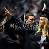 5/17/2014 Mike Orazzi | Staff<br /> CCSU student Marlaina Cuzzone during Saturday's graduation ceremony at the XL Center in Hartford.