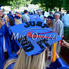 6/19/2014 Mike Orazzi | Staff<br /> Bristol Eastern High School graduates before Thursday night's graduation ceremony.
