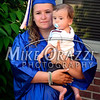 6/19/2014 Mike Orazzi | Staff<br /> Bristol Eastern High School graduate Melissa Burke holds her cousin Jay Barnett, 6 months old, before Thursday night's graduation ceremony.
