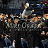 5/17/2014 Mike Orazzi | Staff<br /> CCSU students during Saturday's graduation ceremony at the XL Center in Hartford.