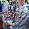 6/19/2014 Mike Orazzi | Staff<br /> Bristol Eastern High School graduate Sean Welch shows off his cap before Thursday night's graduation ceremony.