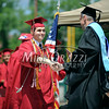 6/27/2014 Mike Orazzi | Staff<br /> New Britain High School's Paolo Celentano during Friday's graduation ceremony at New Britain Stadium.