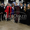 5/17/2014 Mike Orazzi | Staff<br /> Governor Dannel P. Malloy lines up with the University Singers and Miss USA Erin Brady during Saturday's graduation ceremony at the XL Center in Hartford.