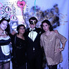 Paola Berta, Viola Zini, Pablo Bubar, Isabel Vanessa Lanzoni (from left to right).   #Halloween #ZINC #live_art Photo copyrights © by Vanessa Isabel Lanzoni