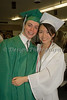 High School Graduation: St. Mary's High School, Colorado Springs, Colorado