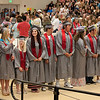 First Row Of Grads