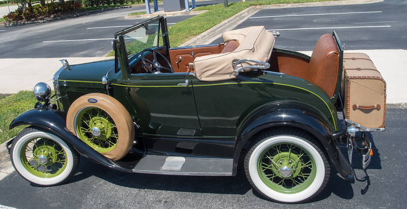 Old Ford Convertible